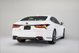 lexus sport this is the 2018 lexus ls 500 f sport the drive