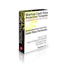 startup cash flow projection template 12 month cash flow forecast