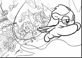 incredible my little pony fluttershy coloring pages with pinkie
