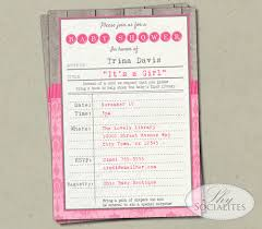 Shabby Chic Website Templates by Shabby Chic Pink Library Card Invitation U2014 Shy Socialites