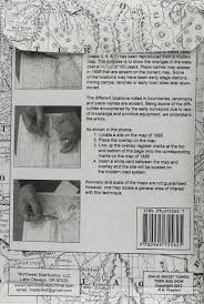 The Ghost Map Idaho Ghost Towns 5 Map Set Then U0026 Now R N Preston