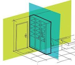 porte de la cuisine cloisons partielles isoler l entrée fermer la cuisine