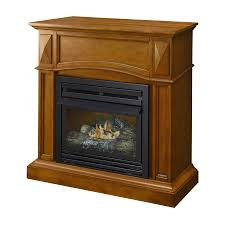 shop pleasant hearth 35 75 in dual burner vent free heritage