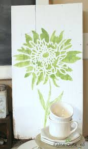 393 best stenciled canvas wall art images on pinterest cutting