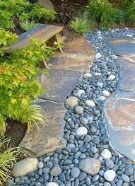 River Rock Garden Bed Rock Garden Designs Elcorazon Club