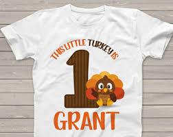 turkey 1st birthday etsy