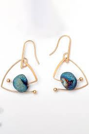 stylish earrings new stylish geometric design earrings beautifulhalo