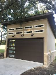 building a workshop a modern garage that u0027s the perfect size for storage space and a