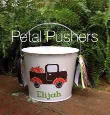 personalized halloween buckets petal pushers home facebook