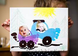 footprint cars on canvas projects to try pinterest