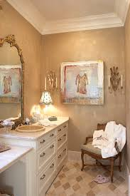 Large Crown Wall Decor Glamorous Bathroom Design Idea With Large Wall Mirror And Marylin