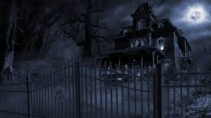 halloween background ghosts scary mansion scary mansion house halloween haunted keep out