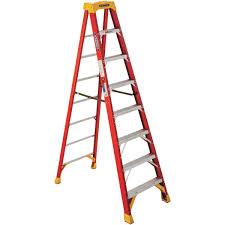 ladder werner type ia fiberglass step ladder 6208 do it best
