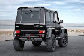 mercedes truck 4x4 brabus mercedes benz g 500 4x4 squared hiconsumption