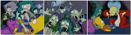 Simpsons Family Halloween Costumes by Treehouse Of Horror I Halloween Speculation The Simpsons
