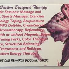 Sports Massage Business Cards A Healing Touch By Revonda Ryan Lmt 30 Photos Massage Therapy