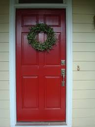 Red Door Home Decor Best 25 Red Front Doors Ideas On Pinterest Exterior Door Trim