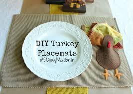 diy turkey placemats daisymaebelle daisymaebelle