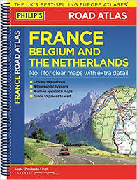 map netherlands belgium philip s road atlas belgium and the netherlands spiral a5