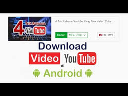 cara download mp3 dari youtube di pc cara mudah download video dari youtube di hp android dan komputer