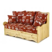 canapé en pin canapé 2 places pin massif canapé 2 places pin avec coffre