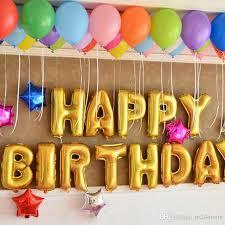 happy birthday balloon happy birthday balloons party decoration letters alphabet aluminum