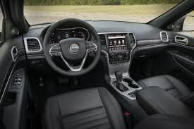 jeep grand cherokee interior 2018 2018 jeep grand cherokee new features and special editions