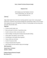 nursing student resume resume nursing student resume template