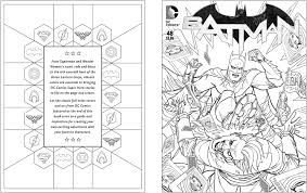 amazon dc comics coloring book 9781608878291 insight