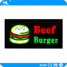 Open Light Up Sign New Design Colorful Open Led Light Up Sign Board Portable