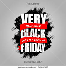 black friday banner black friday sale banner over black stock vector 573760663