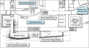 Newseum Floor Plan | newseum and galleries newseum