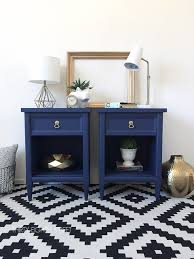 modern painted nightstands with country chic paint thirty eighth