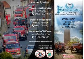 Bad Belzig 140 Jahre Feuerwehr Bad Belzig