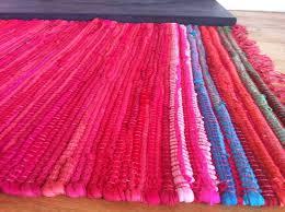 rugs pink rag rug yylc co