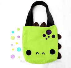 dinosaur tote bag schoolbag backpack bookbag reusable