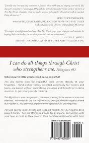 ten big words 10 word bible verses teens abby boldt messner