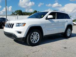 jeep 2014 white used 2014 jeep grand laredo 4x4 crossover for sale in