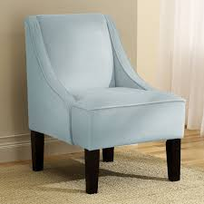 Light Blue Accent Chair Surprising Blue Accent Chair With Arms On Mid Century Modern Chair