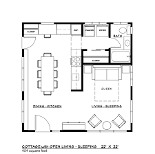 Modern Design House Plans by Modern Style House Plan 1 Beds 1 00 Baths 484 Sq Ft Plan 917 37