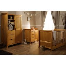 obaby stamford sleigh 3 piece furniture set country pine new