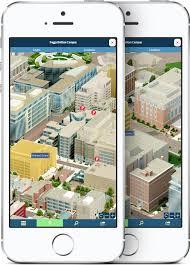 George Washington University Campus Map by Nimblepitch Groundwork Design Win 2014 Webby Award U0026 Webby