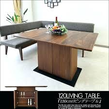 living room table with storage dining sets with storage counter height dining set with storage