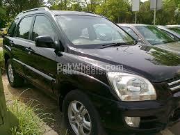 kia sportage black kia sportage 2 0 ex 4x4 automatic 2006 for sale in islamabad