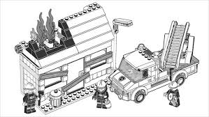 City Coloring Pages Lego Coloring Pages