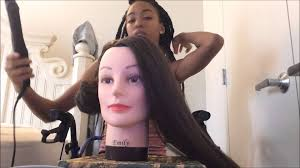 cosmetology mannequin head with synthetic from amazon review