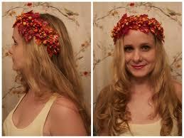 collaboween diy autumn fairy crown youtube