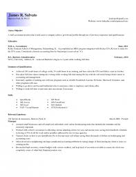 Example Of Accountant Resume by Example Of Resume Profile Entry Level Httpwwwresumecareerinfo