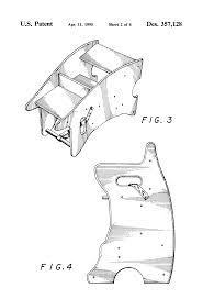 Rocking Chair Drawing Plan Patent Usd357128 Combination High Chair Rocking Horse And Desk