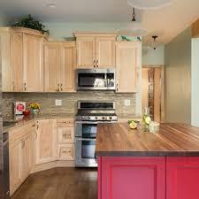 light wood tone kitchen cabinets 75 beautiful pink kitchen with light wood cabinets pictures